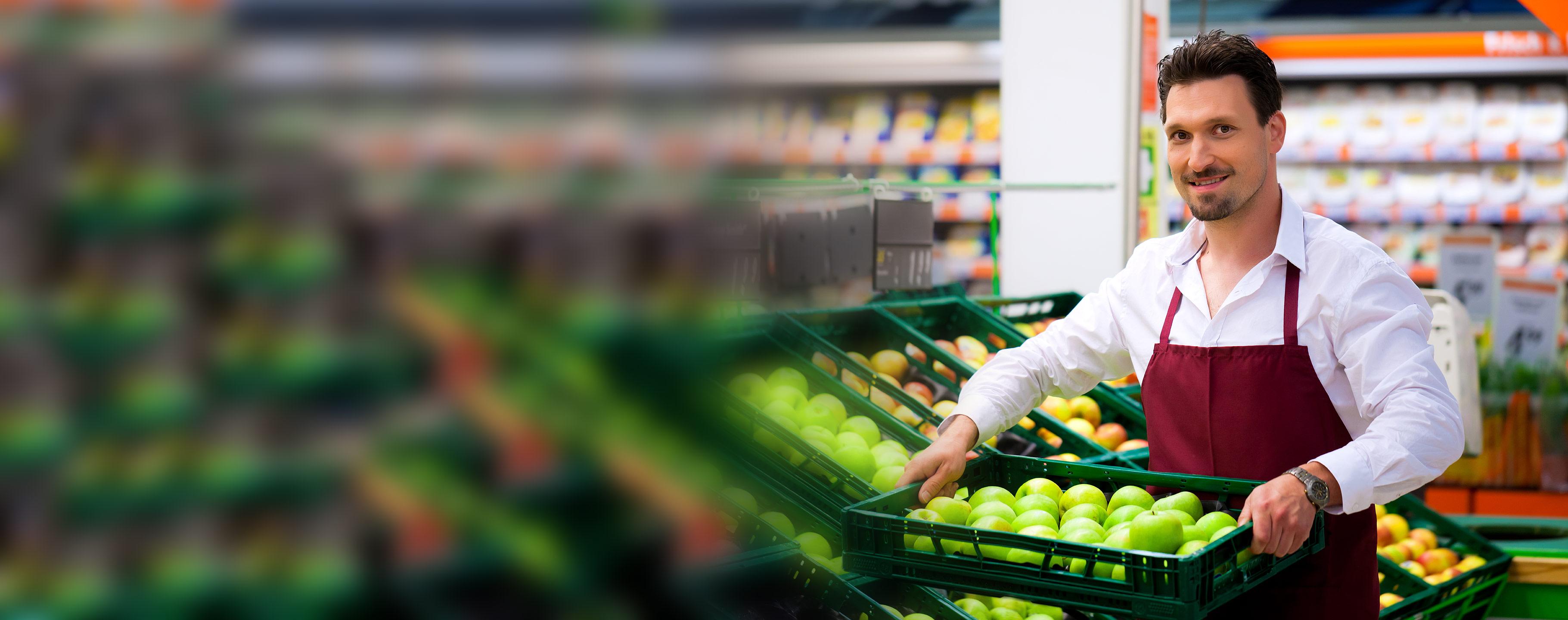 Verkäufer Supermarkt